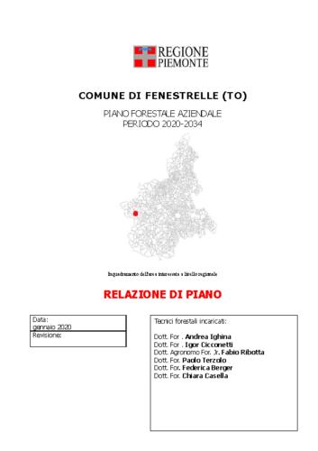 RELAZIONE PFA Fenestrelle_definitivo