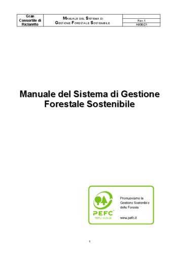 Manuale del sistema di gestione forestale sostenibile rev_1